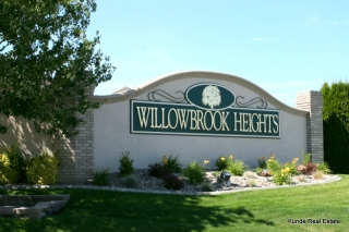Entrance to Willowbrook Heights Subdivision in South Richland
